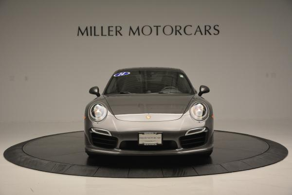 Used 2014 Porsche 911 Turbo S for sale Sold at Pagani of Greenwich in Greenwich CT 06830 11