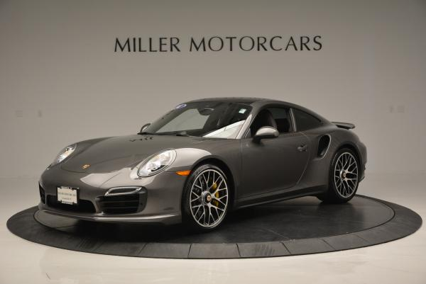 Used 2014 Porsche 911 Turbo S for sale Sold at Pagani of Greenwich in Greenwich CT 06830 2