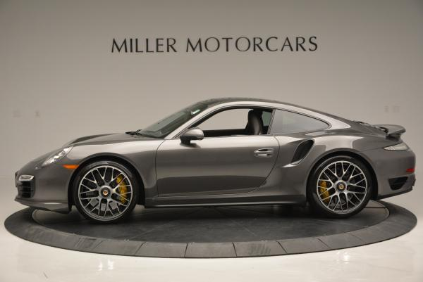 Used 2014 Porsche 911 Turbo S for sale Sold at Pagani of Greenwich in Greenwich CT 06830 3