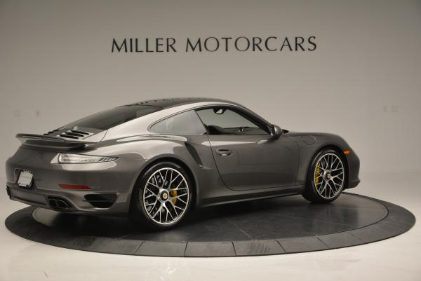Used 2014 Porsche 911 Turbo S for sale Sold at Pagani of Greenwich in Greenwich CT 06830 7