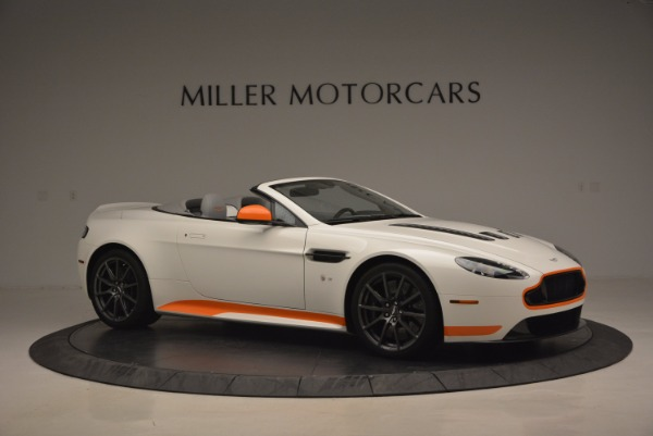 Used 2017 Aston Martin V12 Vantage S Convertible for sale Sold at Pagani of Greenwich in Greenwich CT 06830 10