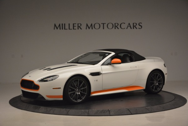 Used 2017 Aston Martin V12 Vantage S Convertible for sale Sold at Pagani of Greenwich in Greenwich CT 06830 14