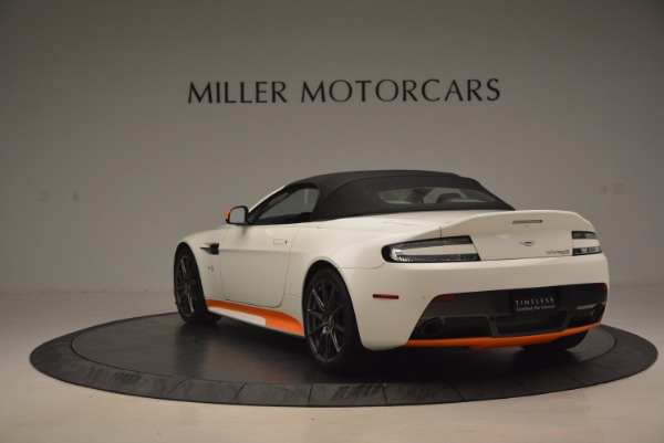 Used 2017 Aston Martin V12 Vantage S Convertible for sale Sold at Pagani of Greenwich in Greenwich CT 06830 17