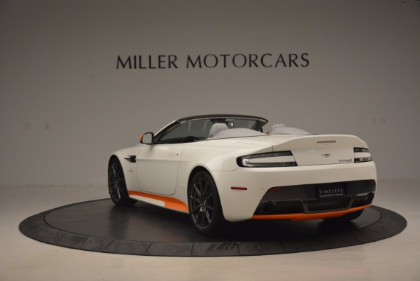 Used 2017 Aston Martin V12 Vantage S Convertible for sale Sold at Pagani of Greenwich in Greenwich CT 06830 5
