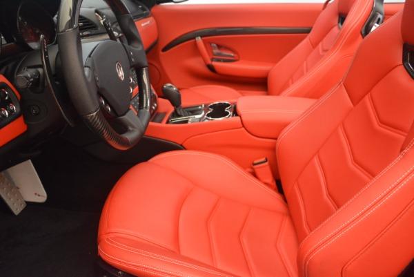 Used 2015 Maserati GranTurismo MC for sale Sold at Pagani of Greenwich in Greenwich CT 06830 26