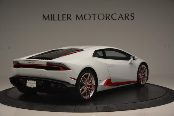 Used 2015 Lamborghini Huracan LP610-4 for sale Sold at Pagani of Greenwich in Greenwich CT 06830 10