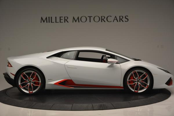 Used 2015 Lamborghini Huracan LP610-4 for sale Sold at Pagani of Greenwich in Greenwich CT 06830 11