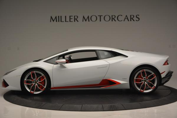 Used 2015 Lamborghini Huracan LP610-4 for sale Sold at Pagani of Greenwich in Greenwich CT 06830 3