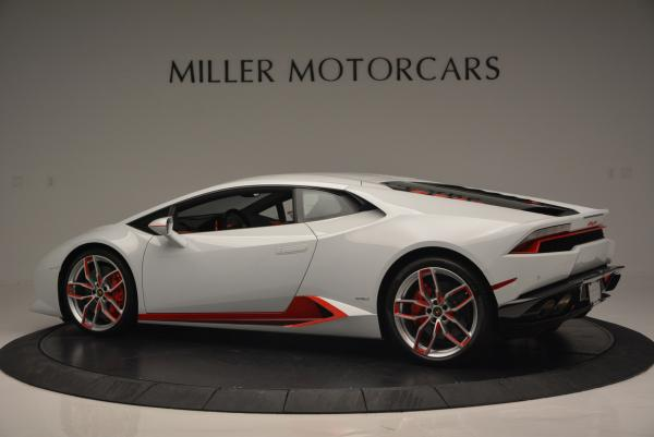 Used 2015 Lamborghini Huracan LP610-4 for sale Sold at Pagani of Greenwich in Greenwich CT 06830 4