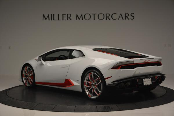 Used 2015 Lamborghini Huracan LP610-4 for sale Sold at Pagani of Greenwich in Greenwich CT 06830 5