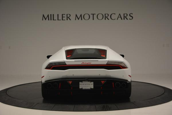 Used 2015 Lamborghini Huracan LP610-4 for sale Sold at Pagani of Greenwich in Greenwich CT 06830 6