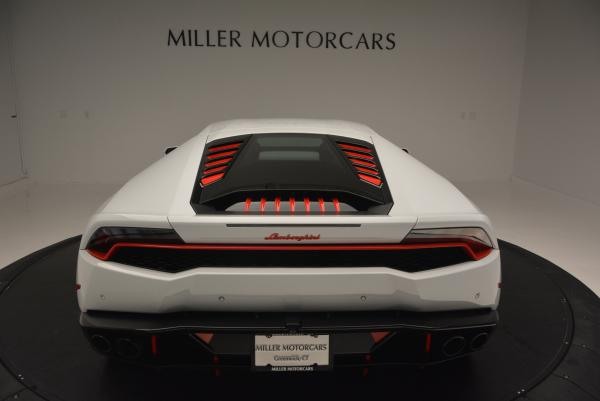 Used 2015 Lamborghini Huracan LP610-4 for sale Sold at Pagani of Greenwich in Greenwich CT 06830 7