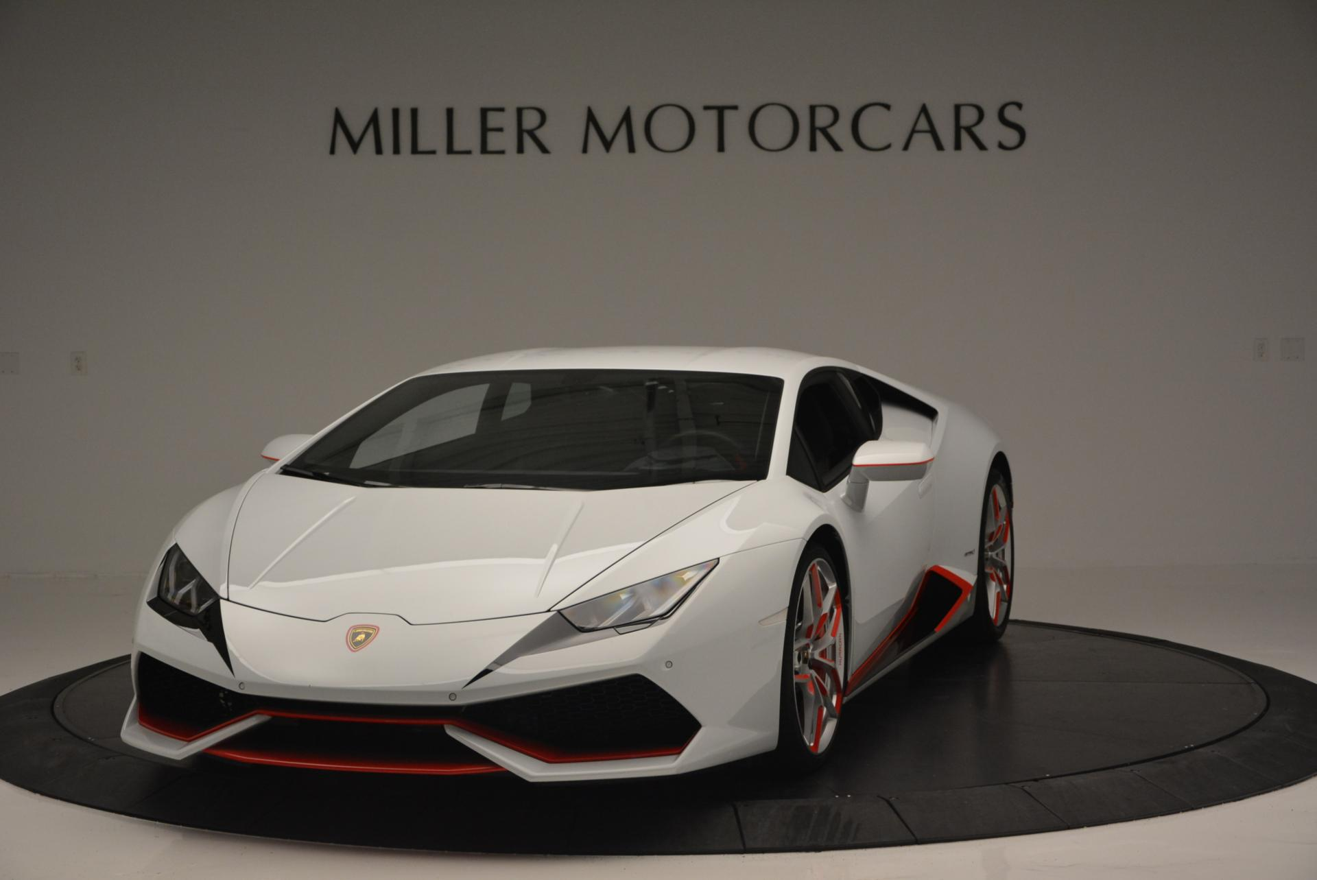 Used 2015 Lamborghini Huracan LP610-4 for sale Sold at Pagani of Greenwich in Greenwich CT 06830 1
