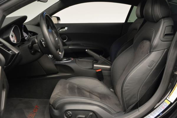 Used 2012 Audi R8 GT (R tronic) for sale Sold at Pagani of Greenwich in Greenwich CT 06830 14