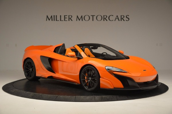 Used 2016 McLaren 675LT Spider Convertible for sale Sold at Pagani of Greenwich in Greenwich CT 06830 10
