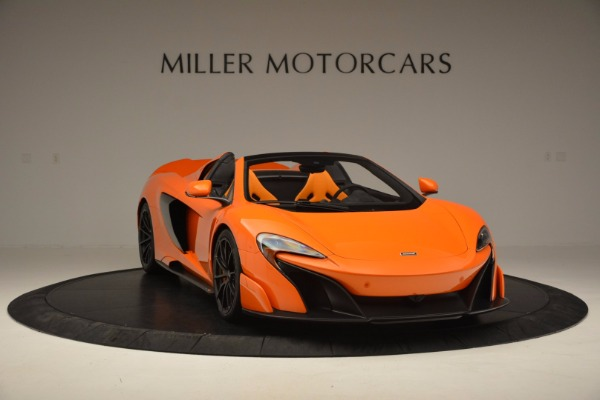Used 2016 McLaren 675LT Spider Convertible for sale Sold at Pagani of Greenwich in Greenwich CT 06830 11