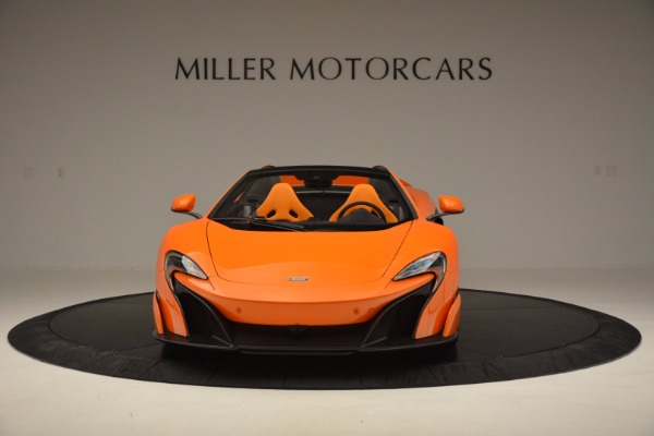 Used 2016 McLaren 675LT Spider Convertible for sale Sold at Pagani of Greenwich in Greenwich CT 06830 12