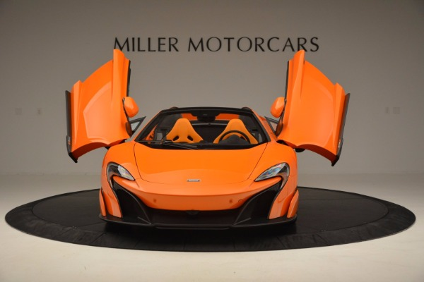 Used 2016 McLaren 675LT Spider Convertible for sale Sold at Pagani of Greenwich in Greenwich CT 06830 13