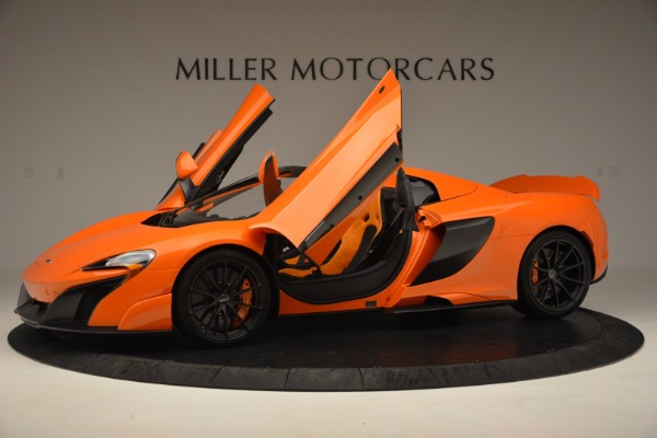 Used 2016 McLaren 675LT Spider Convertible for sale Sold at Pagani of Greenwich in Greenwich CT 06830 14