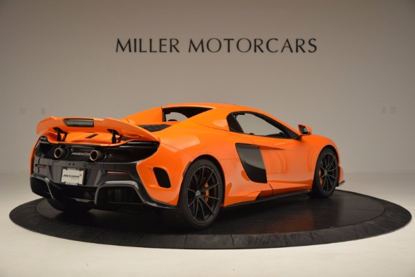 Used 2016 McLaren 675LT Spider Convertible for sale Sold at Pagani of Greenwich in Greenwich CT 06830 18