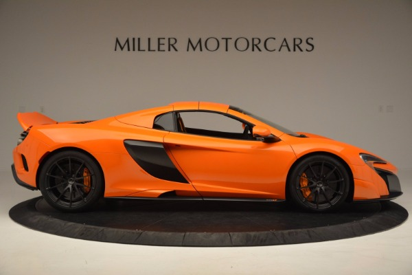 Used 2016 McLaren 675LT Spider Convertible for sale Sold at Pagani of Greenwich in Greenwich CT 06830 19