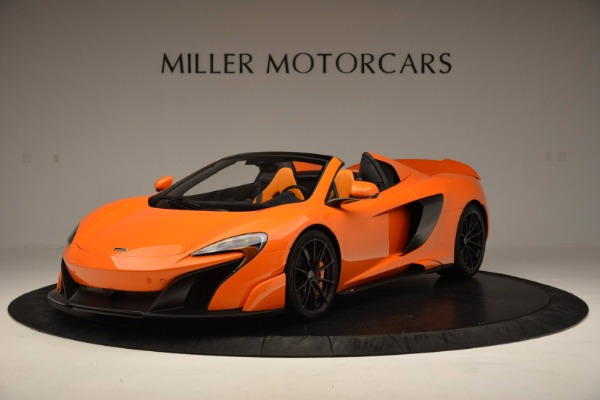 Used 2016 McLaren 675LT Spider Convertible for sale Sold at Pagani of Greenwich in Greenwich CT 06830 2