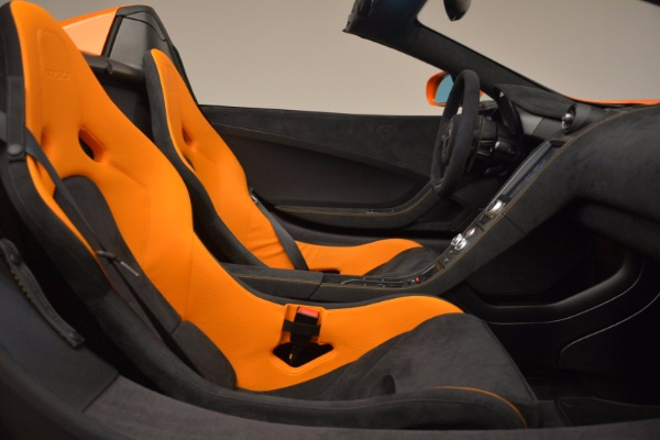 Used 2016 McLaren 675LT Spider Convertible for sale Sold at Pagani of Greenwich in Greenwich CT 06830 26