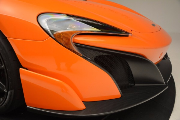 Used 2016 McLaren 675LT Spider Convertible for sale Sold at Pagani of Greenwich in Greenwich CT 06830 28