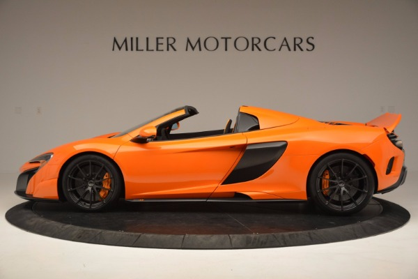 Used 2016 McLaren 675LT Spider Convertible for sale Sold at Pagani of Greenwich in Greenwich CT 06830 3