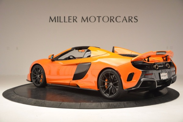 Used 2016 McLaren 675LT Spider Convertible for sale Sold at Pagani of Greenwich in Greenwich CT 06830 4