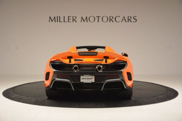 Used 2016 McLaren 675LT Spider Convertible for sale Sold at Pagani of Greenwich in Greenwich CT 06830 6