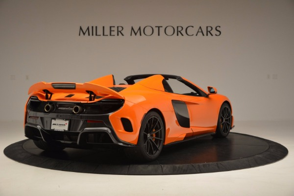 Used 2016 McLaren 675LT Spider Convertible for sale Sold at Pagani of Greenwich in Greenwich CT 06830 7