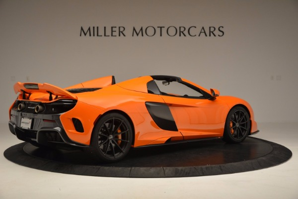 Used 2016 McLaren 675LT Spider Convertible for sale Sold at Pagani of Greenwich in Greenwich CT 06830 8