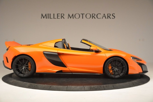Used 2016 McLaren 675LT Spider Convertible for sale Sold at Pagani of Greenwich in Greenwich CT 06830 9