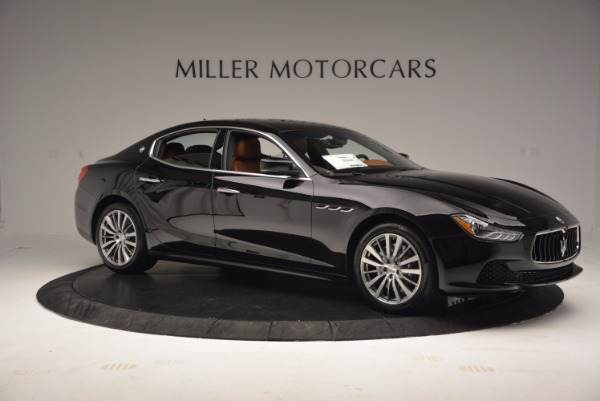 Used 2017 Maserati Ghibli SQ4 S Q4 Ex-Loaner for sale Sold at Pagani of Greenwich in Greenwich CT 06830 10