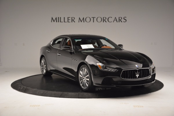 Used 2017 Maserati Ghibli SQ4 S Q4 Ex-Loaner for sale Sold at Pagani of Greenwich in Greenwich CT 06830 11