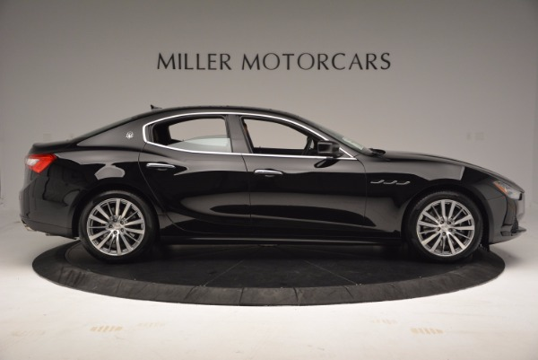 Used 2017 Maserati Ghibli SQ4 S Q4 Ex-Loaner for sale Sold at Pagani of Greenwich in Greenwich CT 06830 9