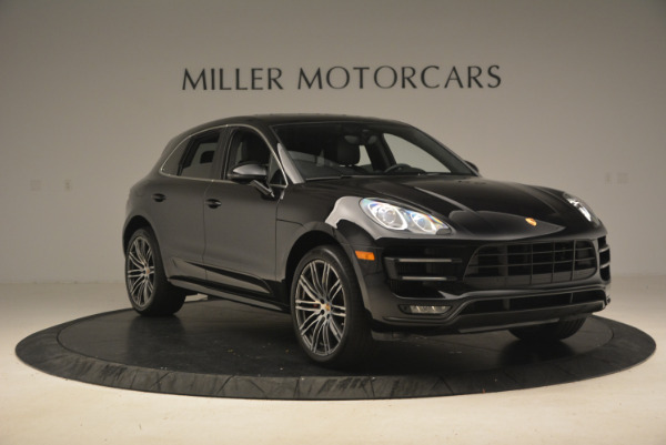 Used 2016 Porsche Macan Turbo for sale Sold at Pagani of Greenwich in Greenwich CT 06830 11
