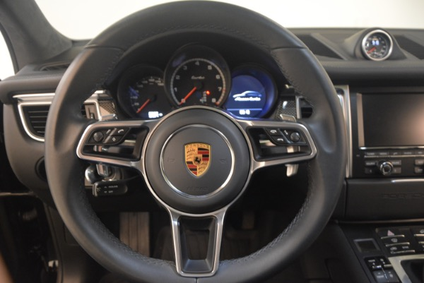 Used 2016 Porsche Macan Turbo for sale Sold at Pagani of Greenwich in Greenwich CT 06830 18