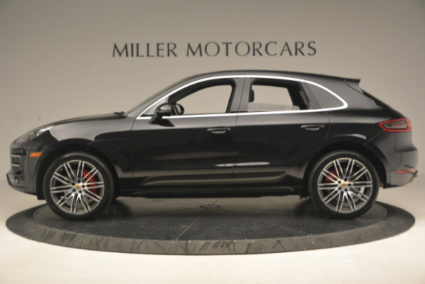 Used 2016 Porsche Macan Turbo for sale Sold at Pagani of Greenwich in Greenwich CT 06830 3
