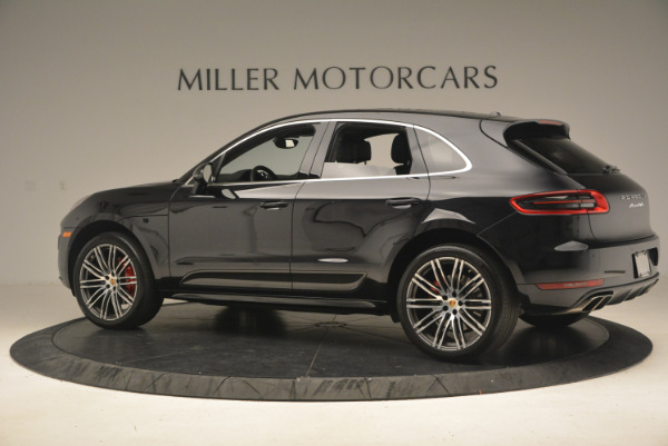 Used 2016 Porsche Macan Turbo for sale Sold at Pagani of Greenwich in Greenwich CT 06830 4