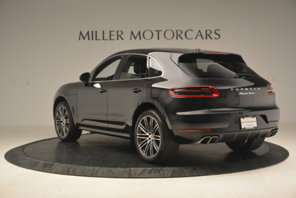 Used 2016 Porsche Macan Turbo for sale Sold at Pagani of Greenwich in Greenwich CT 06830 5