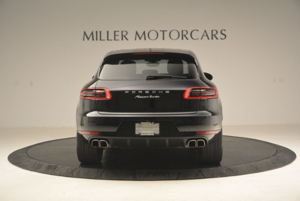 Used 2016 Porsche Macan Turbo for sale Sold at Pagani of Greenwich in Greenwich CT 06830 6