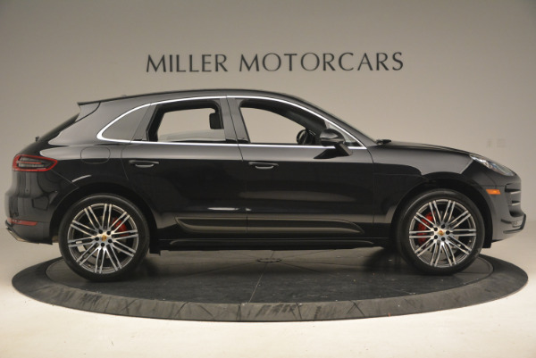 Used 2016 Porsche Macan Turbo for sale Sold at Pagani of Greenwich in Greenwich CT 06830 9