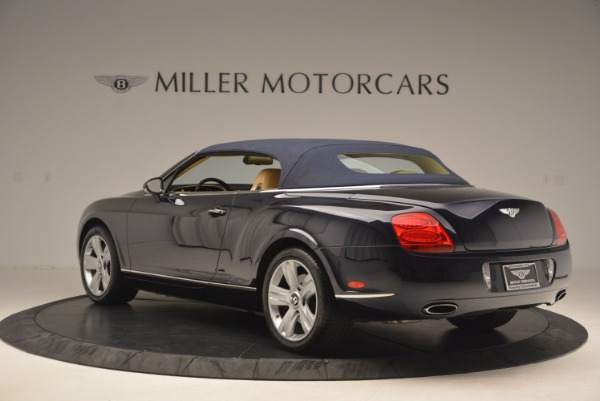Used 2007 Bentley Continental GTC for sale Sold at Pagani of Greenwich in Greenwich CT 06830 18
