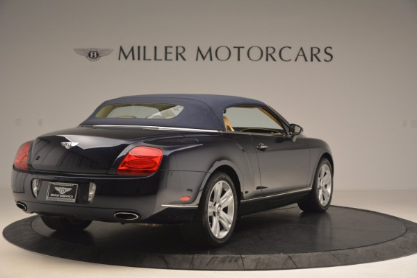 Used 2007 Bentley Continental GTC for sale Sold at Pagani of Greenwich in Greenwich CT 06830 20