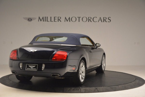 Used 2007 Bentley Continental GTC for sale Sold at Pagani of Greenwich in Greenwich CT 06830 21