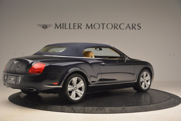 Used 2007 Bentley Continental GTC for sale Sold at Pagani of Greenwich in Greenwich CT 06830 22