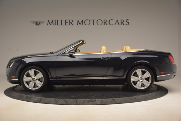 Used 2007 Bentley Continental GTC for sale Sold at Pagani of Greenwich in Greenwich CT 06830 3