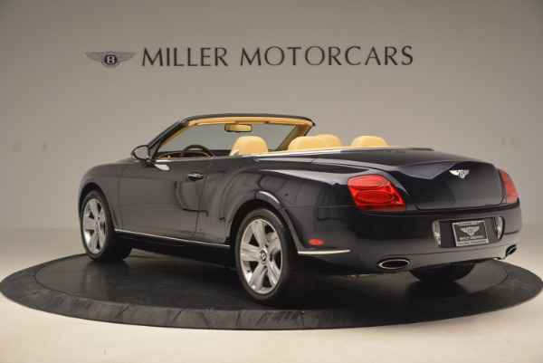 Used 2007 Bentley Continental GTC for sale Sold at Pagani of Greenwich in Greenwich CT 06830 5